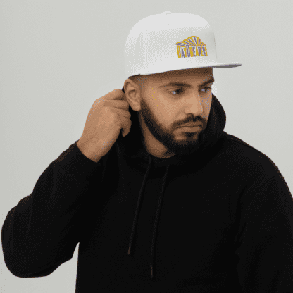 DayDreamers Band Snapback Hat (White)
