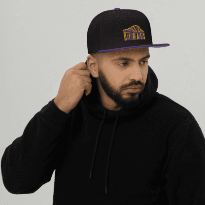 DayDreamers Band Snapback Hat (Purple / Black)