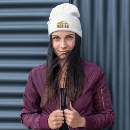 DayDreamers Band Embroidered Beanie